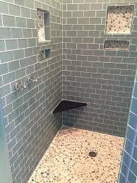 pebble tile shower floor mixed island pebble tile shower floor pebble tile shower floor cleaning