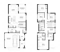 Double Story House Floor Plans Two Storey House Floor Plan And Elevations House Floor Plans