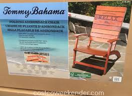 Johnny Bahama Beach Chair Tommy Bahama Folding Adirondack Chair Costco Weekender