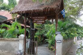 oceane paradise bungalow gili trawangan indonesia booking com