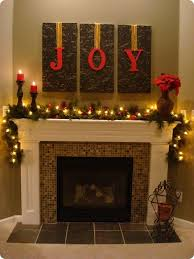 Christmas Decorations For Fireplace Mantel Amazing Diy Fireplace Mantel Christmas Makeovers