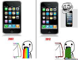 Iphone 5 Meme - iphone 1 vs iphone 5 by emilie meme center