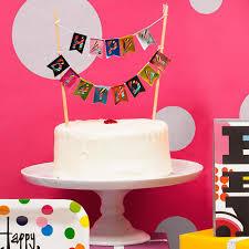 cake banner topper birthday cake cake banner topper bull