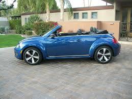blue volkswagen convertible 2013 volkswagen beetle turbo convertible turns heads in california