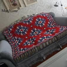 ou jeter un canapé commerce rétro klim coton canapé jeter couverture salon doux