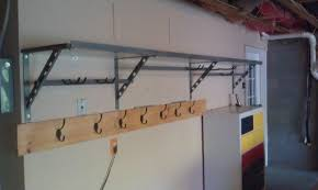 garage shelving ideas diy garage wall storage systems garage