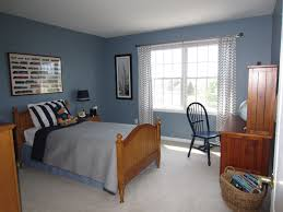 Latest Wooden Single Bed Designs Vintage Boys Bedroom Paint Ideas With Soft Blue Color Also Wooden