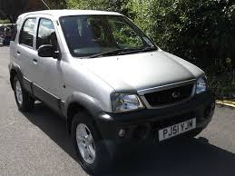 daihatsu terios used daihatsu terios 1 3 el 5dr for sale in huddersfield west