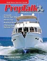 proptalk magazine november 2008 by spinsheet publishing company