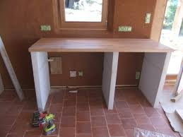 faire un plan de travail cuisine creer un comptoir bar cuisine comptoir de cuisine occasion avec