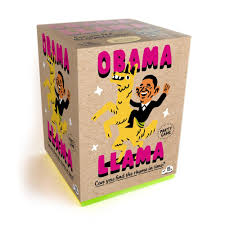 obama llama the celebrity rhyming board game big potato ltd