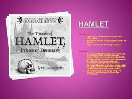 hamlet themes love by erin larimore a author s setting l london england