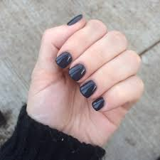 acrylic nails with space grey gel nail polish 45 yelp