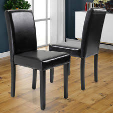 Leather Dining Armchair Dining Chairs Ebay