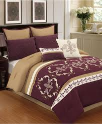 Closeout Bedroom Furniture by Closeout Plum Royale 8 Pc Comforter Set Created For Macy U0027s