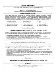 Account Manager Sample Resume by Resume Account Manager Resume Example