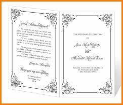 Wedding Programs Template Free 9 Free Event Program Templates Monthly Budget Forms
