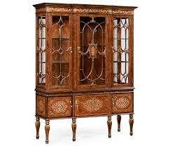 Break Front Cabinet U0026 Mother Of Pearl Display Cabinet