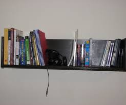 Enclosed Bookshelves How To Build Wall Mounted Bookshelves For Less Than 100 8 Steps