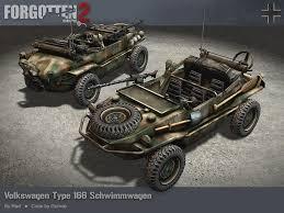 volkswagen schwimmwagen forgotten hope vehicles