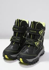 boots geox himalaya winter boots blacklime geox clearance