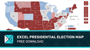 2016 Presidential Election Map Free Download Excel Presidential Election Map 2016 Youtube