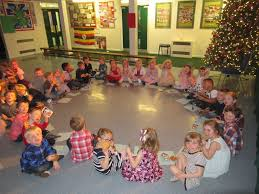 christmas party time clover hill primary