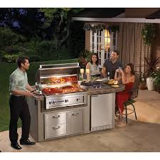 Patio Bbq Island by Lynx Sedona Deluxe Bbq Island With 36 Inch Natural Gas Bbq Grill