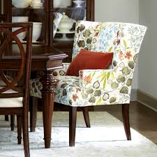 Printed Dining Chairs Bedroom Agreeable Upholstered Dining Chairs Leather Room Best