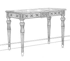 charles barr bespoke console tables