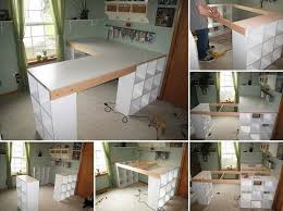Diy Craft Desk Diy Project Custom Craft Desk Home Design Garden