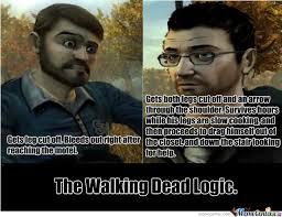 Memes The Walking Dead - the walking dead logic by ninjapanda8 meme center