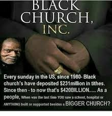 Black Church Memes - black church inc every sunday in the us since 1980 black church s