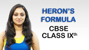 heron u0027s formula ex 12 2 q 9 page no 207 ncert maths class 9th
