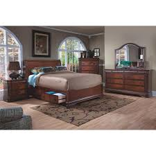 Queen Storage Beds With Drawers Alma Queen Storage Bed El Dorado Furniture