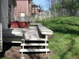 sloped lot landscaping ideas backyard fence ideas