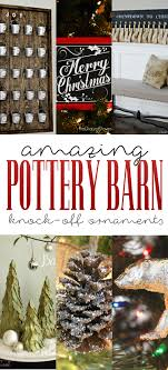 amazing pottery barn knock ornaments the cottage