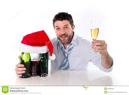 drunk man at christmas after party stock photo image 79778427