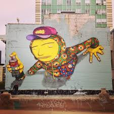 os gemeos in san francisco with new mural this week