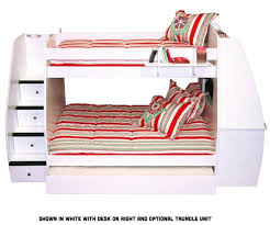 White Bunk Bed With Trundle Bunk Bed With Trundle Kids Furniture Ideas