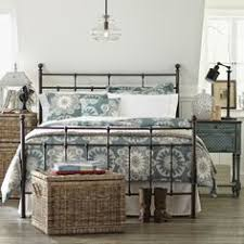 Iron Frame Beds Grey Metal Bed Frame Bedroom Furniture Boys Antique