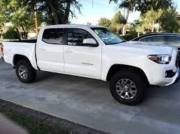 white toyota truck 3rd gen white tacomas post them up tacoma world