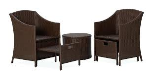 mesmerizing patio furniture with ottoman charming patio chair with