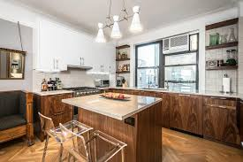 brown kitchen islands and carts kitchen contemporary with open