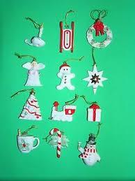 Lenox Christmas Snowman Ornaments by Lenox Ornament Set Ebay