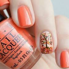 easy thanksgiving nails designs ideas 2017 with stickers