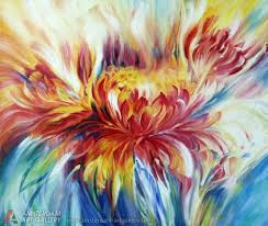 best 25 abstract flower paintings ideas on pinterest abstract
