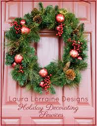 laura lorraine designs holiday decorating services