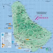 Caribbean Ocean Map by Information About Barbados Caribbean Tour Caribbean Islands