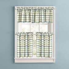 Kitchen Tier Curtains Buy Blue Kitchen Tier Curtains From Bed Bath U0026 Beyond